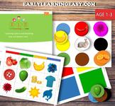 Learning Color matching Basic-Medium (1-3) SET