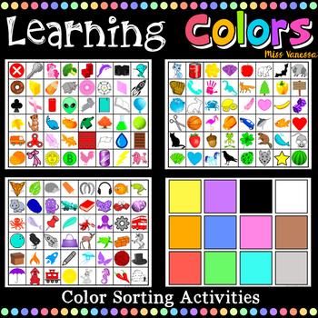 Learning Colors Bundle