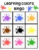 Learning Colors Bingo Game