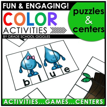 Learning Colors Center Activities