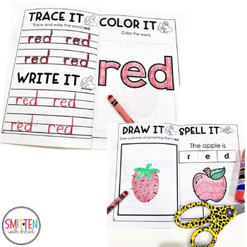 Learning Colors | Color of the Week Activities | Interactive Color Books