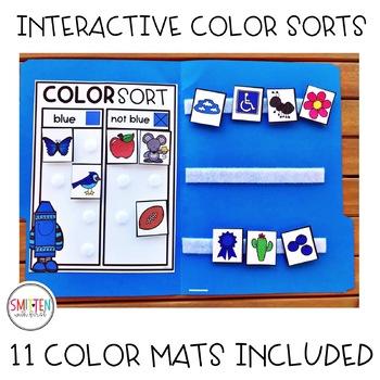 Learning Colors of the Week | File Folder Games | Pre-K, Preschool, Kindergarten