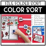 Learning Colors of the Week   File Folder Games   Pre-K, Preschool, Kindergarten