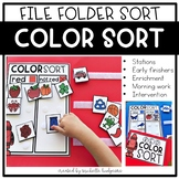 Learning Colors of the Week | File Folder Games | Pre-K, P