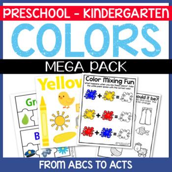 Learning Colors Mega Pack