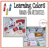 Learning Colors Mini Books and Hands On Activities