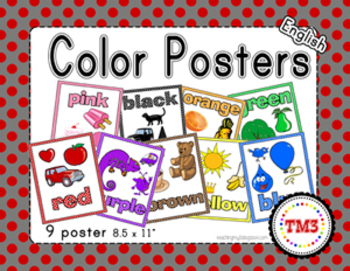 Learning Colors Posters