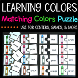 Learning Colors Puzzle Center