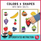 Learning Colors and Shapes a Differentiated Approach