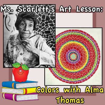 Learning Colors with Alma Thomas Lesson