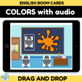Learning Colors with Audio Boom Card Distance Learning