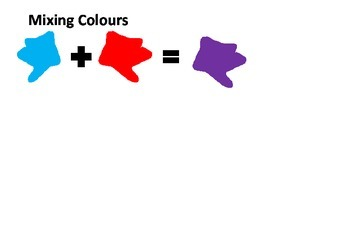 Learning Colours - activities, fact sheets and worksheets for preschool
