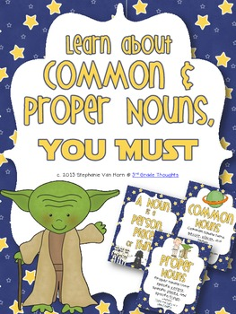 "Learning Common & Proper Nouns with ""The Force"""