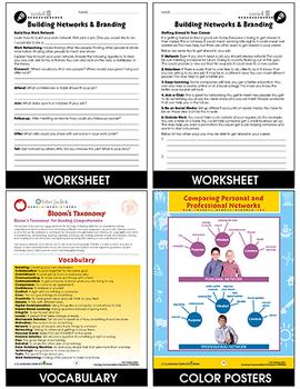 Learning Communication & Teamwork: Building Networks & Branding Gr. 3-8+