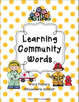 Learning Community Words K-4