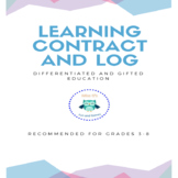 Learning Contract, Log, and Reflection