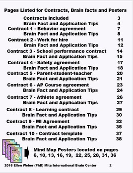 Brain Based Contracts to Benefit Upper Grade Students in Any Class