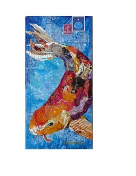Learning Cool & Warm Colors k-1 Asian Koi Fish lesson