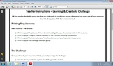 Learning & Creativity Challenge – Problem Solving & Collab