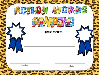 """Action Words A-Z"""