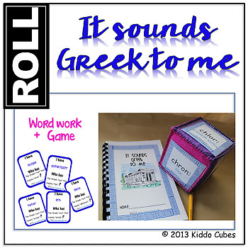 """It Sounds Greek To Me"" Greek Root Words"