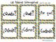 Learning Cube inserts Las Palabras Interrogativas