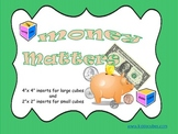 """Learning Cube inserts """"Money Matters"""""""