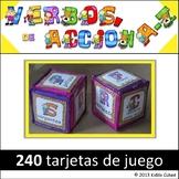"""""""Verbos de accion"""" Action Verbs in Spanish"""