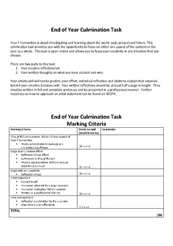 Learning Culmination Task