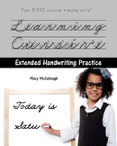 Learning Cursive Extended Practice: With Over 8,500 Cursiv