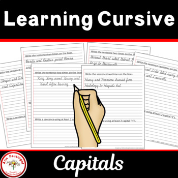Learning Cursive Transitioning to Notebook Paper