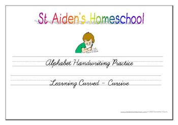 Learning Curved ~ Alphabet Tracing & Activity Book