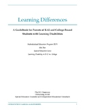 Learning Differences Guidebook