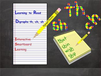Digraphs Smartboard Smart Notebook Interactive Smart board Digraph