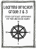 Learning Direction and Mapping Using Grid Worksheets