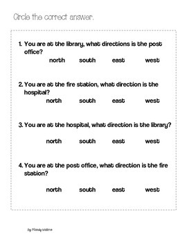 Learning Directions N, S, E, W