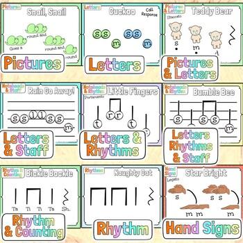 Elementary Music Fundamentals Curriculum ~BUNDLE~ & Interactive Music Notebook