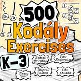 Elementary Music Curriculum ~BUNDLE~ Pitch & Rhythm Studies
