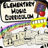 Elementary Music Fundamentals Curriculum ~BUNDLE~ & Intera