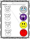 Learning Emotions Dog Emoticons