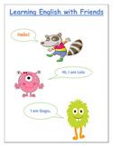 ESL/EFL Communicative Program-Learning English with Friend