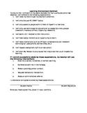 Learning Environment Contract