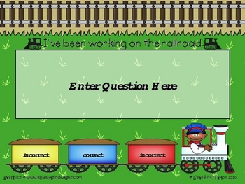 Learning Express PowerPoint Game Template