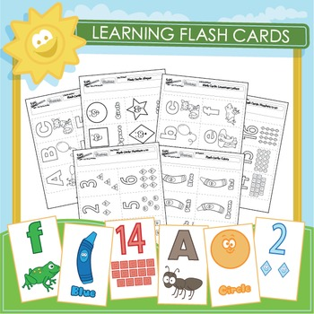 Learning Flash Cards - 6 Pack