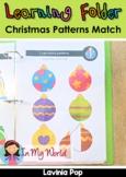 Learning Folder for 3-5   Toddler Binder: Christmas Patter
