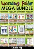 Learning Folder for 3-5   Toddler Binder MEGA BUNDLE