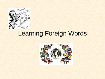 Learning Foreign Words