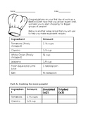 Learning Fractions through Recipe