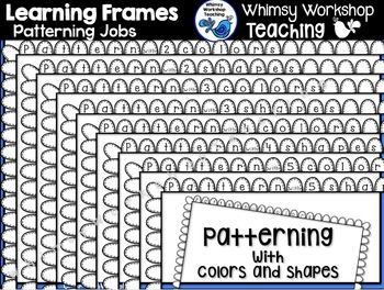 Learning Frames - Patterns