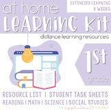 Learning From Home Kit for 1st Grade EXTENDED Lessons